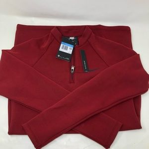 NWT Nike Sportswear Long-Sleeve Dress Red size M